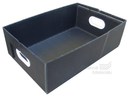 Skládací box 500*330*165mm, kartonplast