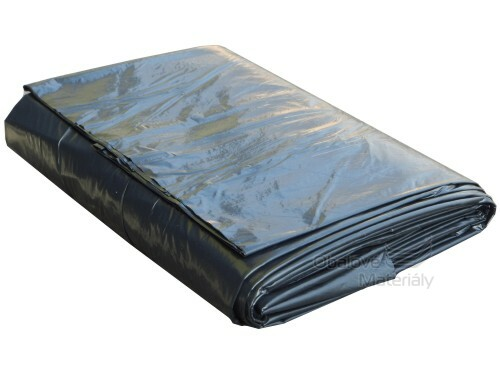 Stavební zakrývací folie černá 4*6 m, 70 my