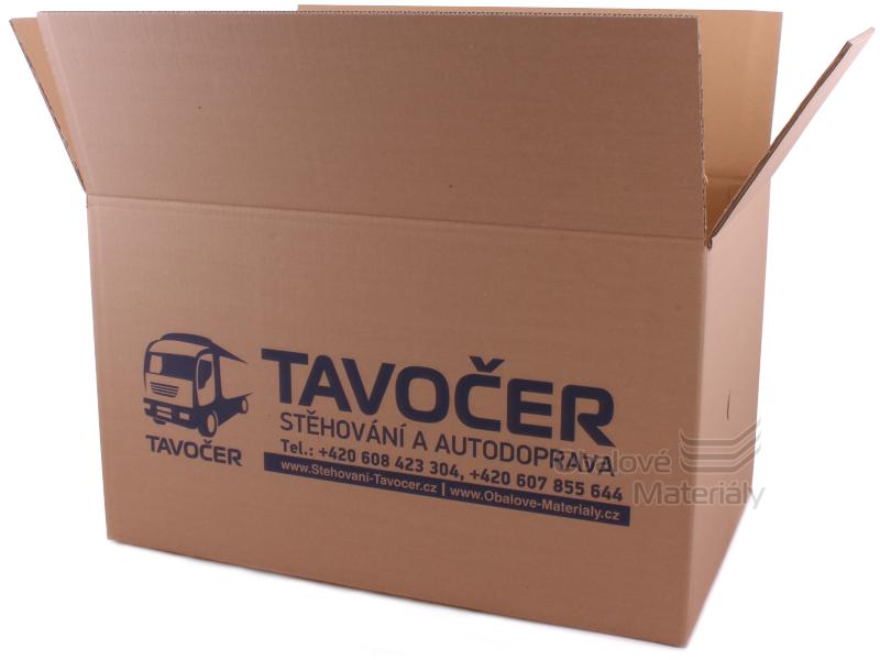 Krabice na stěhování nová, 600*380*350 mm, 5-vrstvá