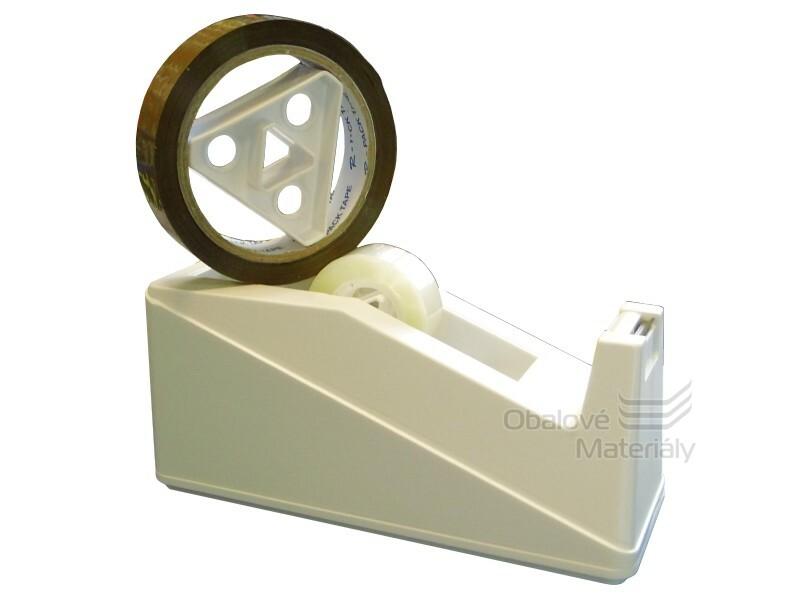 Stolní odvíječ na malé i velké lepící pásky 10 mm/10 m - 25 mm/66 m