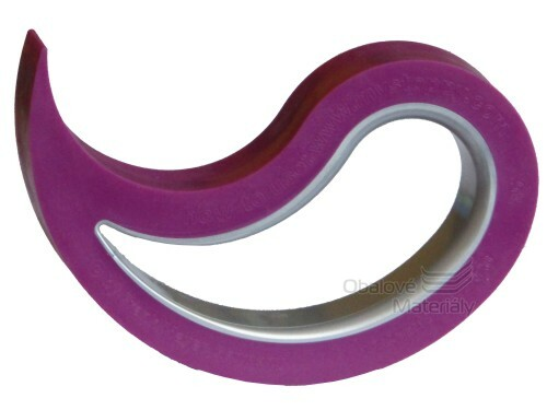 Dveřní a okenní zarážka STOPPY - fialová