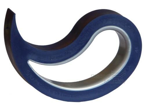 Jedinečná dveřní a okenní zarážka Stoppy Den Braven N5005 modrá