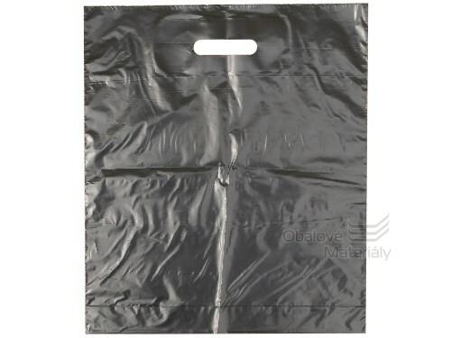 Taška LDPE 38*45+5 cm průhmat ČERNÁ, cena za 1 kus