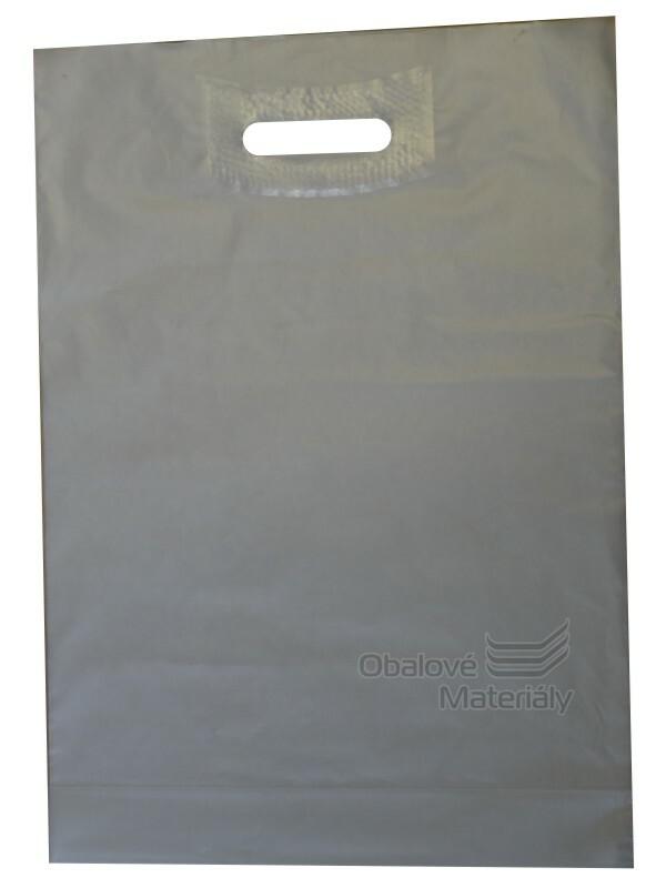 Taška LDPE 35*50*0,055 cm průhmat ledová