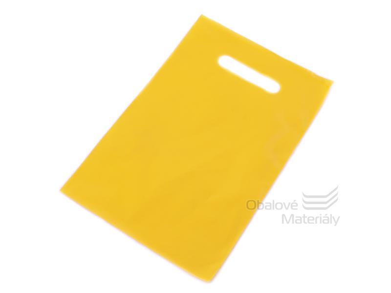 Taška LDPE 50*60+5 cm průhmat BÍLÁ, cena za 1 kus