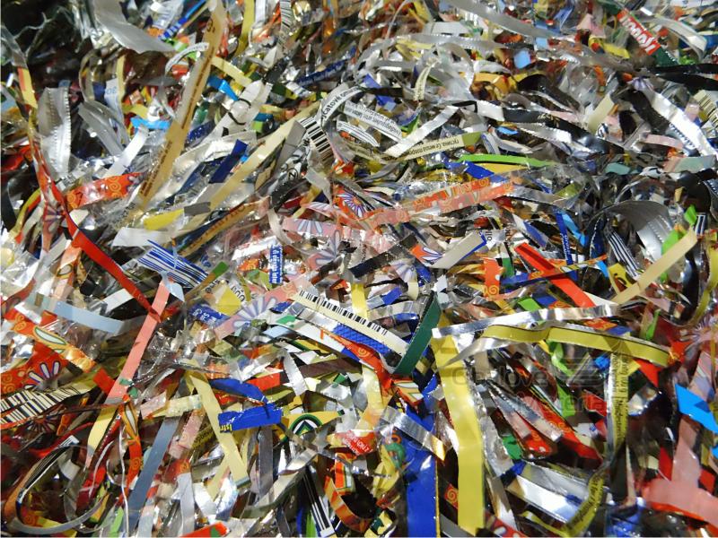 Tatrafánová (Celofánová) vlna - střiž, probalovací materiál, balení 1 kg