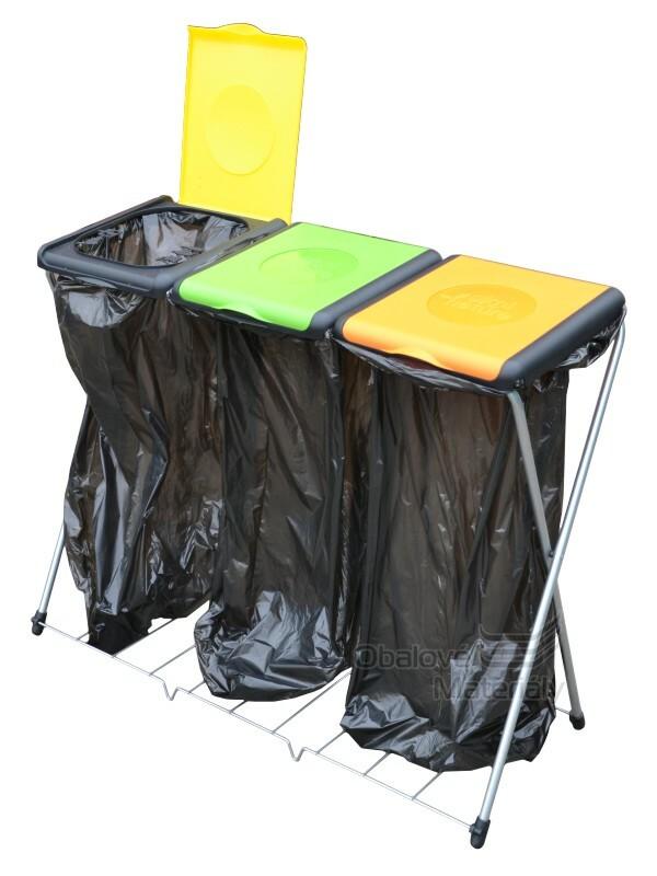 TROJITÝ Stojan na odpadkové pytle