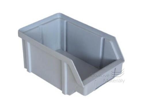 Plastová ukládací bedna zkosená 314*202*148 mm