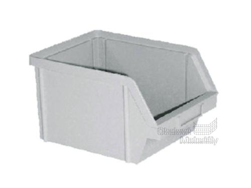 Plastová ukládací bedna 200*150*120 mm, šedá