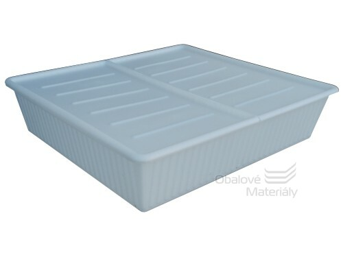 Úložný box pod postel, 700*650*190 mm, barva mléčná, 85 l