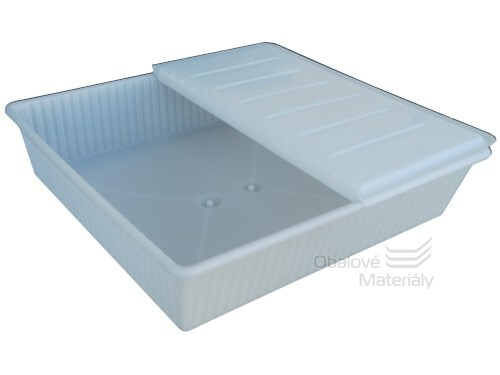 Úložný box pod postel, 700*650*190 mm, barva mléčná