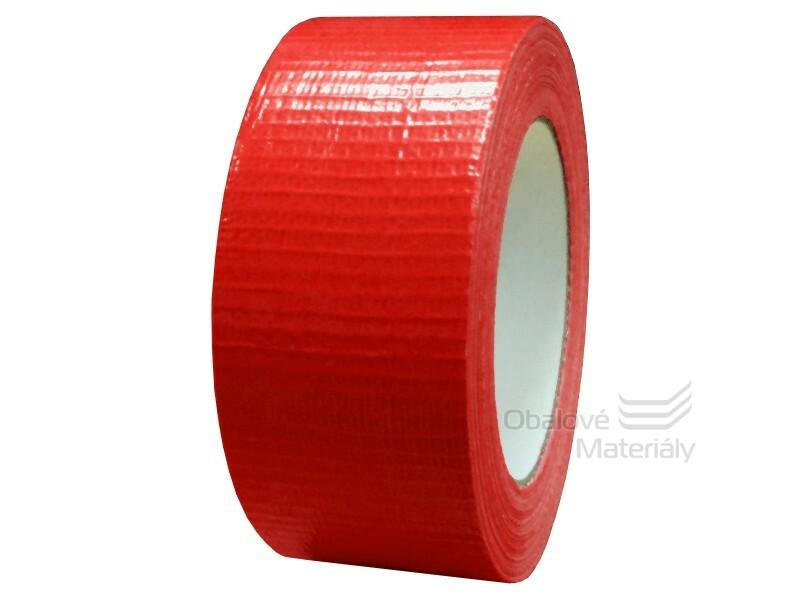 Universální páska 48 mm * 50 m, červená