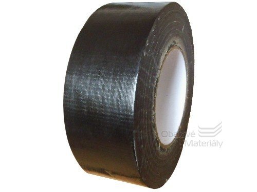 Universální páska silně lepící 50 mm * 50 m černá