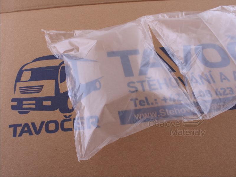 Vzduchové polštářky Flo-Pak LDPE,  20cm*15cm, 25mic - 640l
