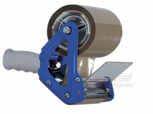 Kvalitní zavírač kartonů s brzdou, šíře 75 mm