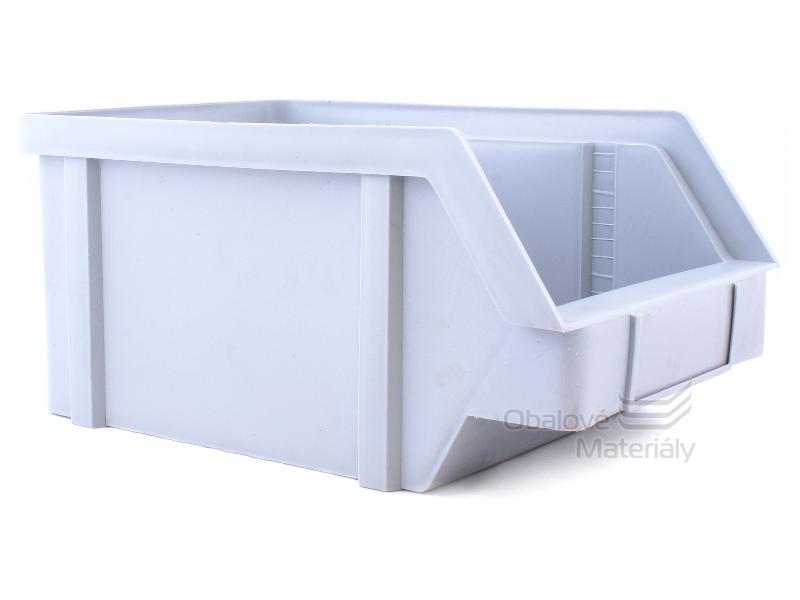 Plastová ukládací bedna zkosená 440*285*210 mm