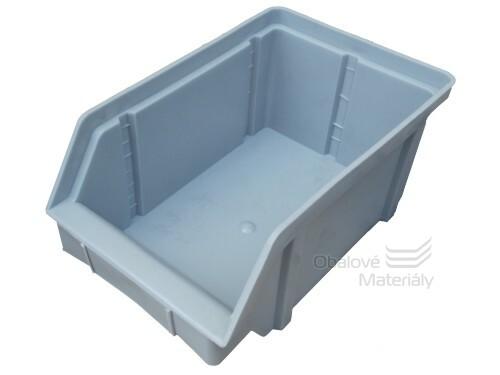 Plastová ukládací bedna zkosená 224*144*108 mm
