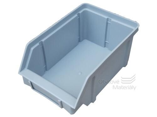 Plastová ukládací bedna zkosená 157*101*74 mm