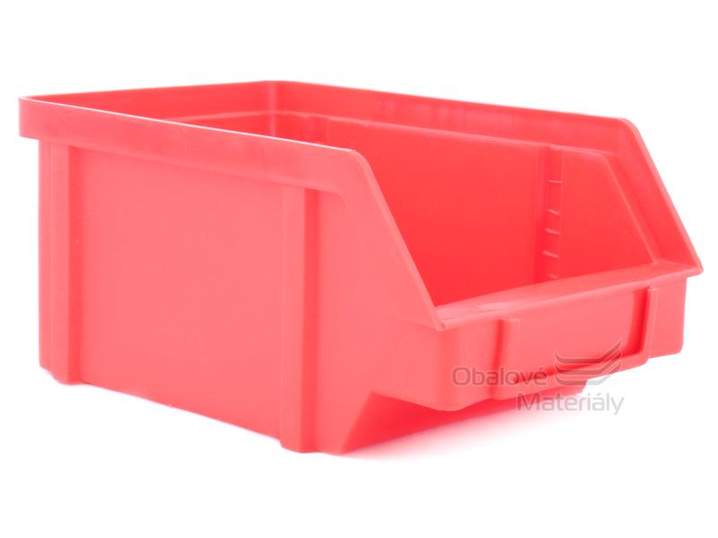 Plastová ukládací bedna zkosená 119*77*56 mm