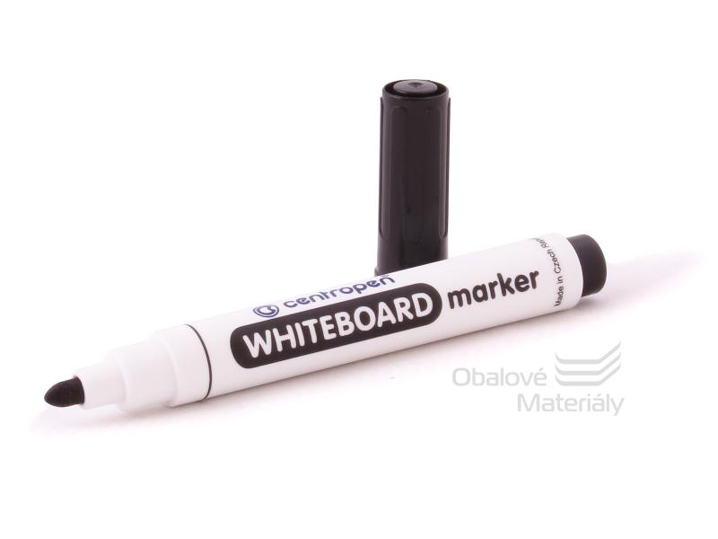 Značkovač Centropen 8559/1 -  WHITEBOARD černý