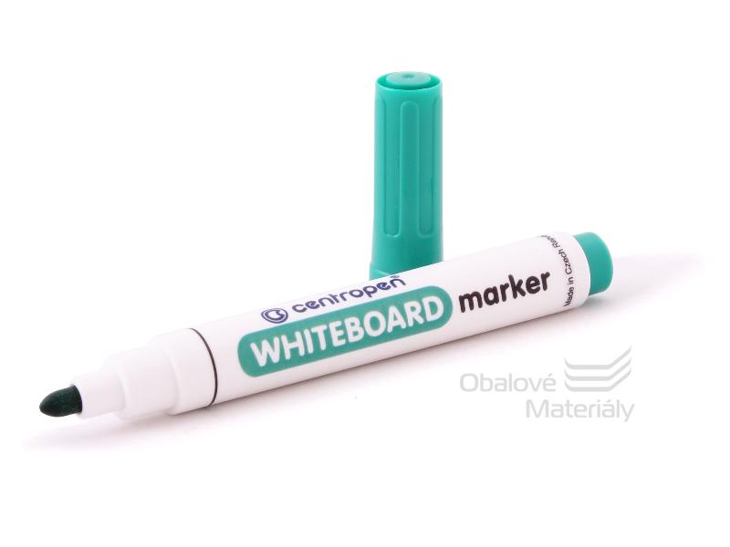 Značkovač Centropen 8559/1 -  WHITEBOARD zelený