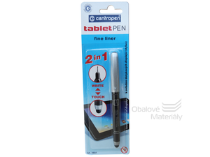 TABLET PEN Centropen 2691/1 - 2v1 Stylus + Liner 0,3mm